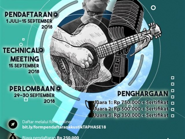 LOMBA BAND AKUSTIK, The Annual Public Health Art and Sport Event 2018