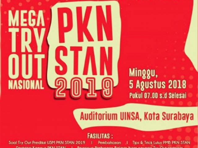 MEGA TRY OUT NASIONAL PKN-STAN 2019