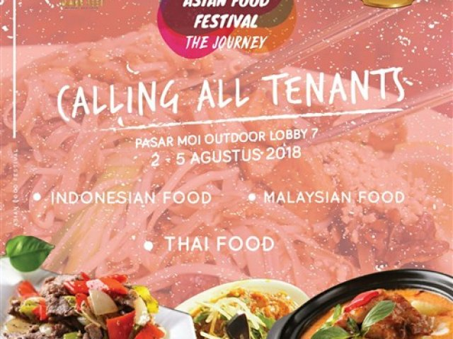 Asian Food Festival The Journey 2018