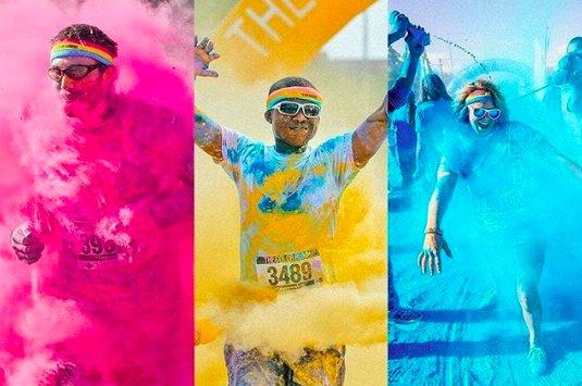 The Color Run Hero Run Jakarta