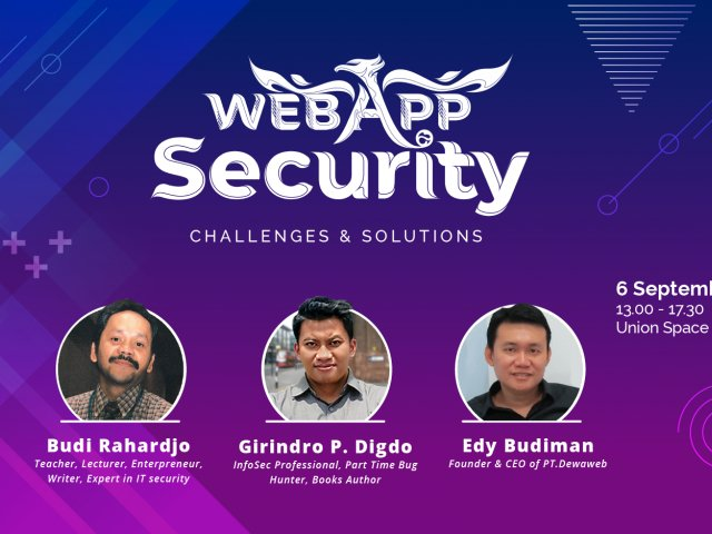 Dewatalks 2018: Web App Security
