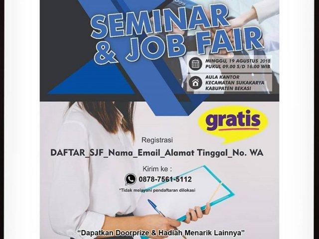 Seminar & Job Fair Bekasi