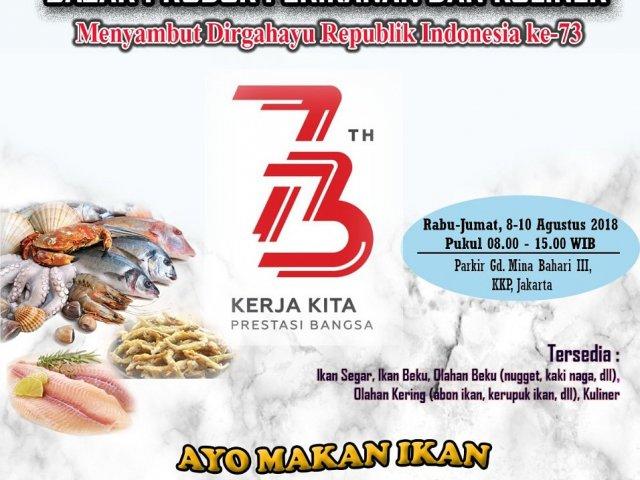 Bazar Produk Perikanan dan Kuliner