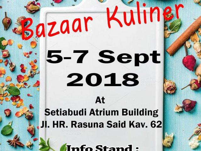 Bazaar Kuliner 2018
