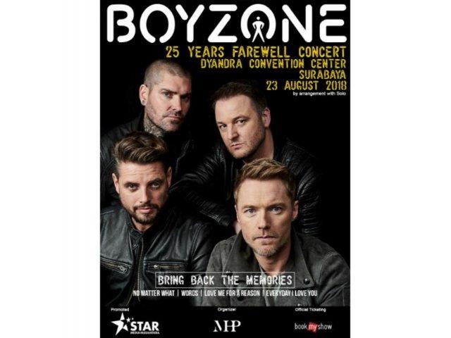 Boyzone 25 Years Farewell