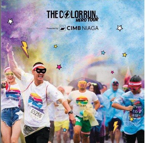 The Color Run Presented by CIMB Niaga