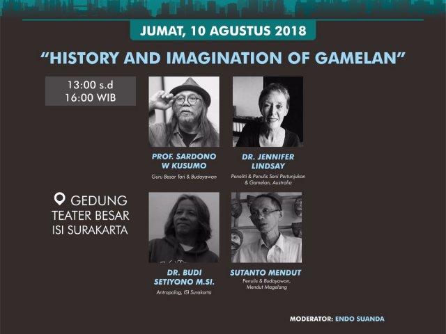 Histori dan Imajinasi Gamelan