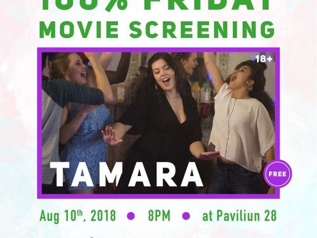 100% Friday Movie Screening