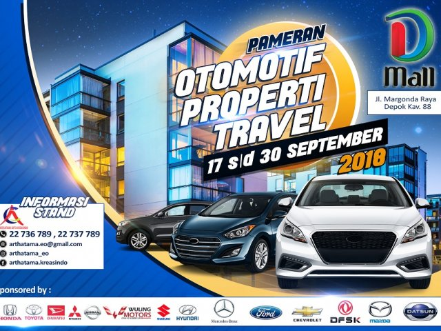 Dmall Pameran Otomotive, Property dan Travel