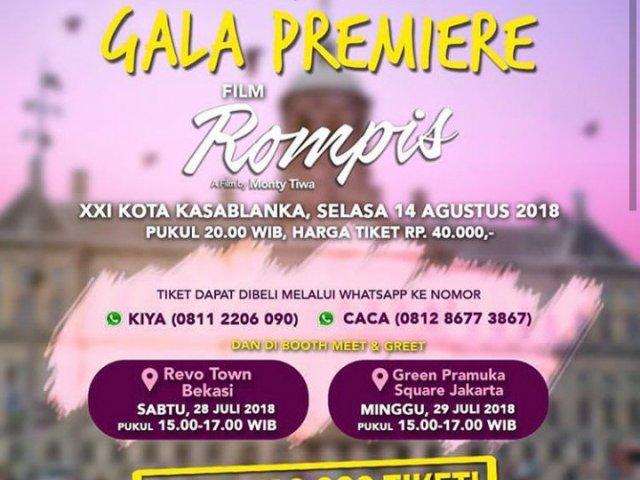 Gala Premiere Film Rompis