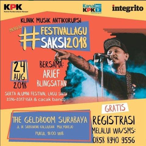 Festival Lagu Saksi 2018