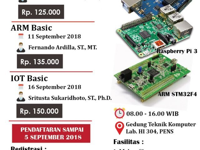 One Day One Course – Workshop Politeknik Elektronika Negeri Surabaya