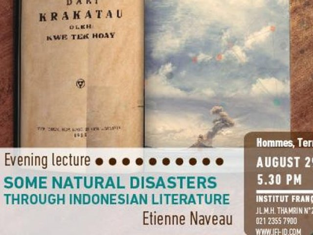 SOME NATURAL DISASTER THROUGH INDONESIAN LITERATURE