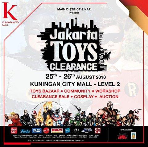 Jakarta Toys Clearance