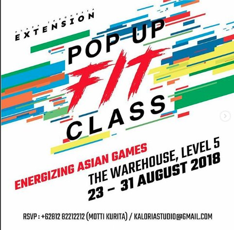 POP UP FIT CLASS