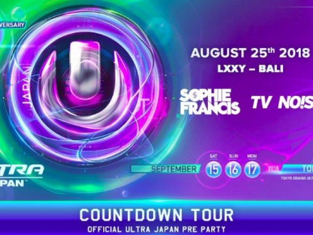 LXXY BALI: Ultra Japan Countdown Tour - Official Ultra Japan Pre Party