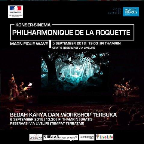 Konser Sinema Le Philharmonique de La Roquette