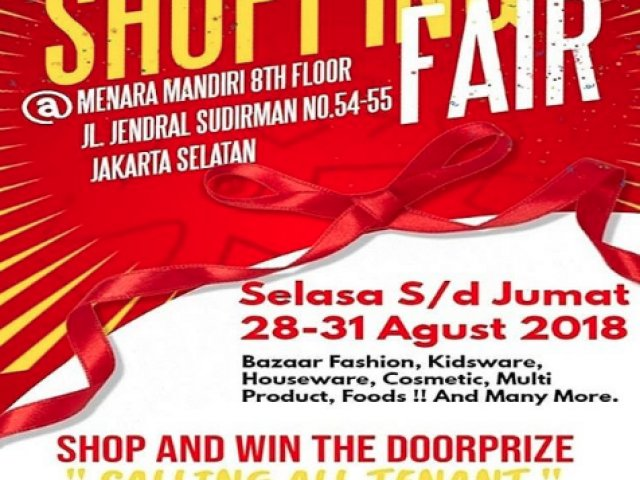 Shopping Fair Jajarta