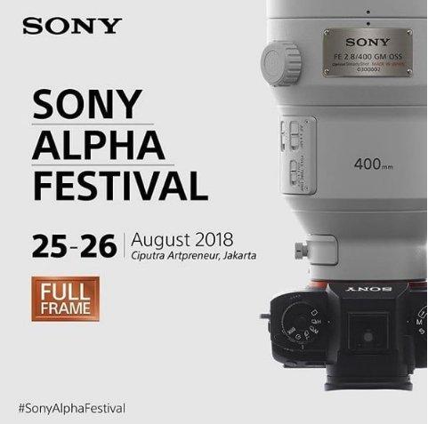 Sony Alpha Festival 2018