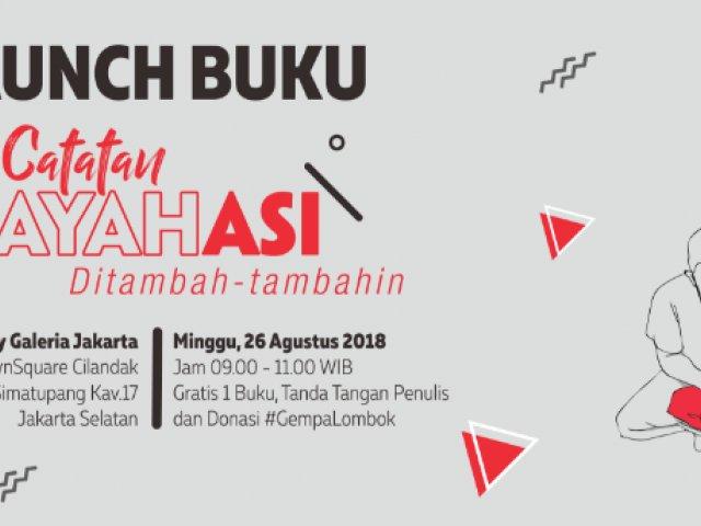 Launching Buku Catatan AyahASI