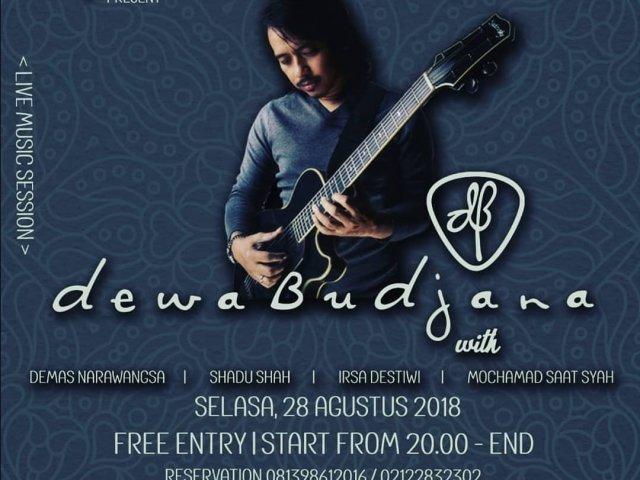 Live Music Session with Dewa Budjana