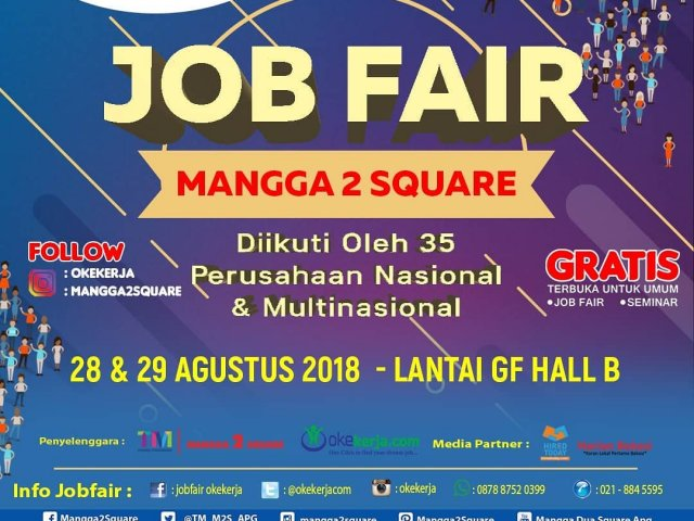 Job Fair Trade Mall Mangga 2 Square