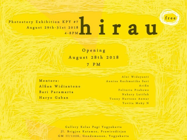 HIRAU Photostory Exhibition KPY #7