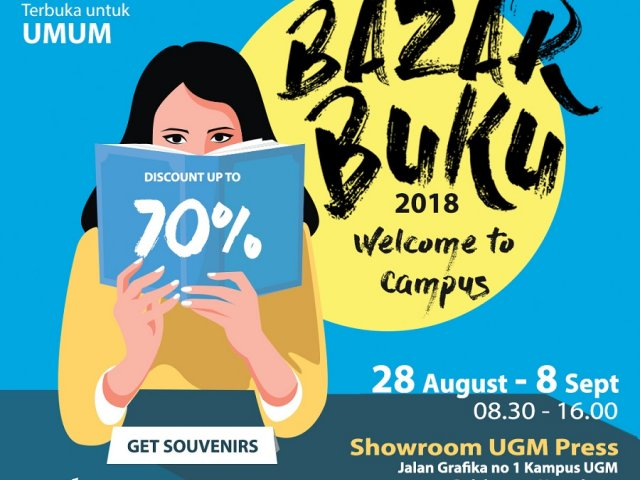 "Bazar Buku 2018 ""Welcome to Campus"""