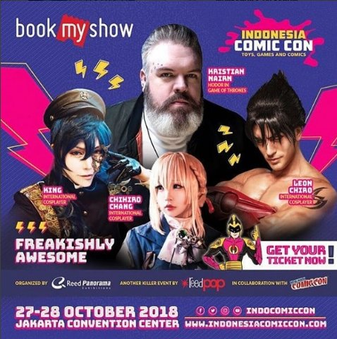 Indonesia Comic Con, Toys, Games and Comics