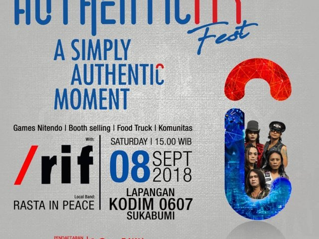 Authenticity Fest with @__rif