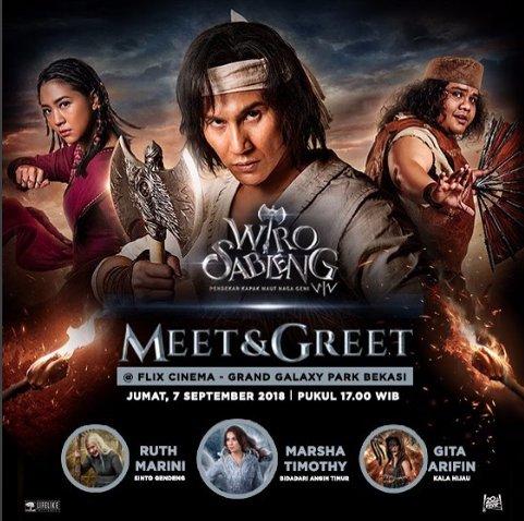Meet & Greet with Cast Film Wiro Sableng