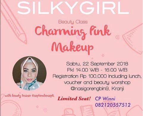 Charming Pink Makeup