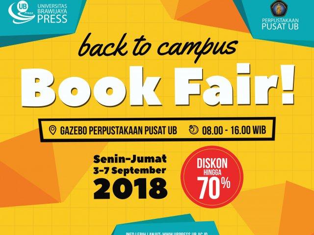 Book Fair Universitas Brawijaya