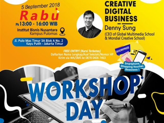 Workshop Day Institut Bisnis Nusantara