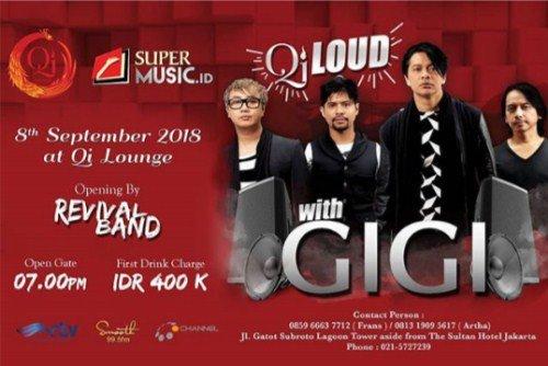 Qi Loud with GIGI
