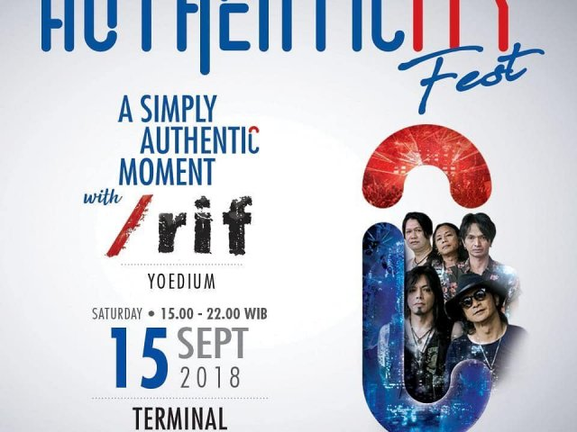 Authenticityfest A simply Authentic Moment with RIF