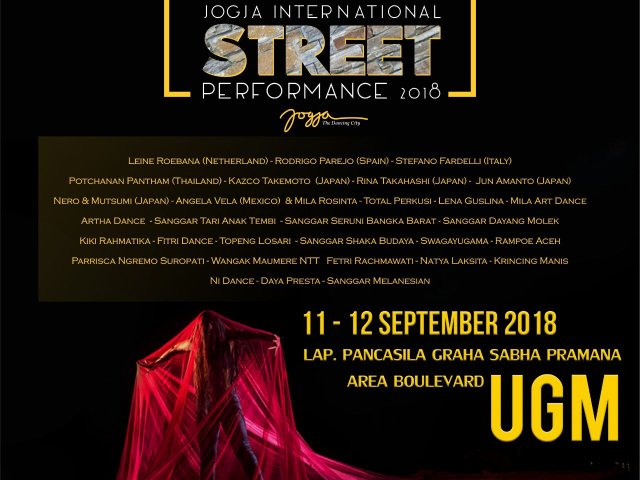 Jogja International Street Performance 2018