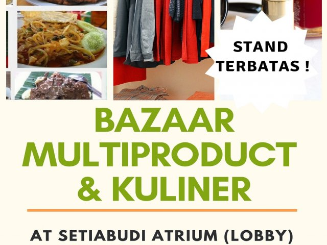 Bazaar Multiproduct dan Kuliner