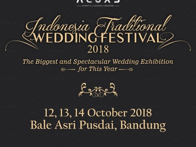 Indonesia Traditional Wedding Festival