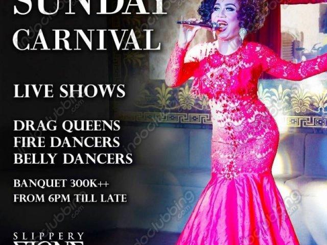 Sunday Carnival at Slippery Stone Bali