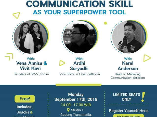 Communication Skill as Your Superpower Tool