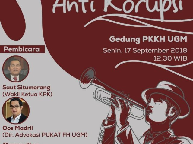 Diskusi Musikal Antikorupsi