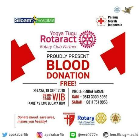Donor Darah by Rotaract Yogya Tugu
