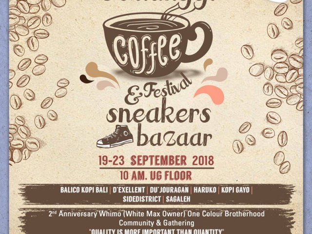 COFFEE FESTIVAL & SNEAKERS BAZAAR