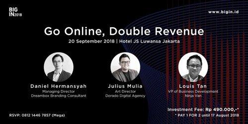 Go Online Double Revenue