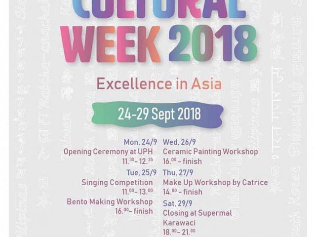Cultural Week 2018