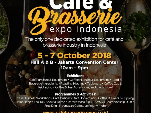 Cafe & Brasserie Expo Indonesia