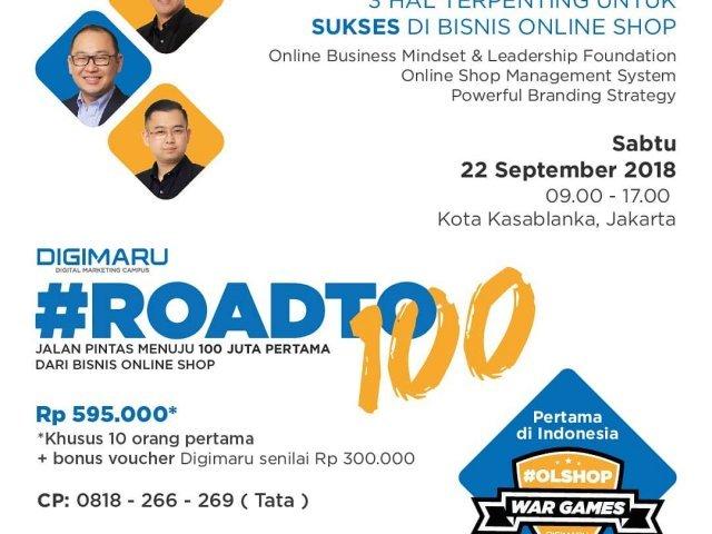 Seminar Digimaru Roadto100