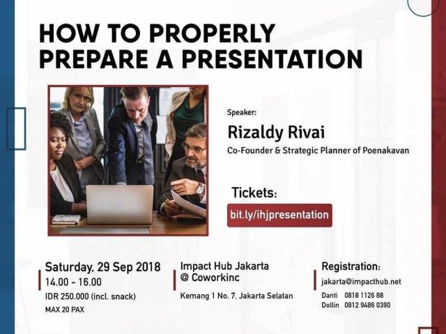 How To Properly Prepare A Presentation