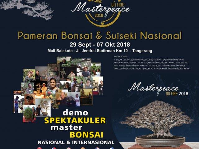 pameran Nasional Bonsai dan Suiseki Masterpeace